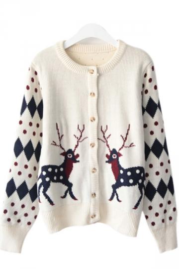 Pink Cardigan Sweaters