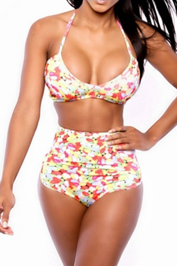 Look no further than high waist bottoms. With tummy tucking features and more modest coverage, these bottoms are a flattering style for all body types. The high waist cut is a chic way to get a little more coverage without skimping out on style.