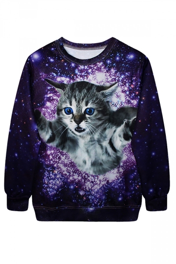 Cat Christmas Sweatshirt