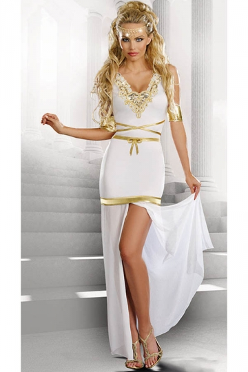 Womens Dreamy Goddess Of Love Aphrodite Halloween Costume