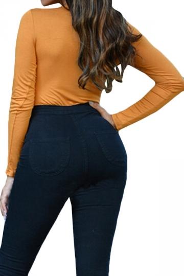 Womens Deep V Neck T Shirts