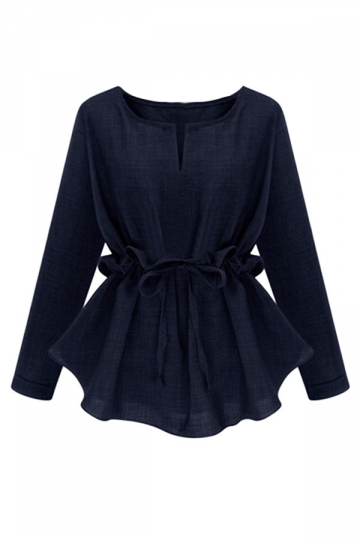 Blouse With Ruffle Sleeve