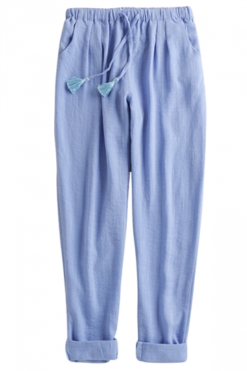 Innovative These Cottonlinen Easywaist Pants Combine A Cool, Fresh Feel And Relaxed Comfort Blended Material Combines Soft Cotton And Cool Linen Light, Crisp Feel For Cool Comfort In Even The Warmest Weather Relaxed Elastic Easywaist